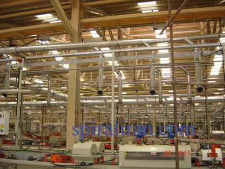ساخت و نصب کانال تهویه هوا و اتصالات
