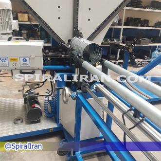 دستگاه کانال ساز ساخت کانال اسپیرال 20 اینچ